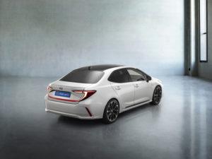 Новая Toyota Corolla 2022